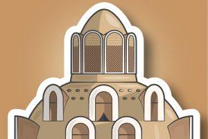 وکتور شهر کاشان