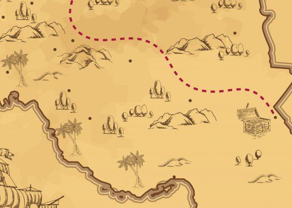 وکتور نقشه قدیمی ایران