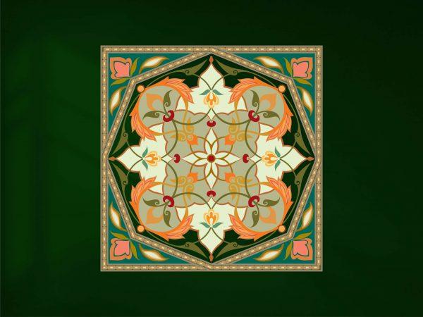 وکتور فرش ایرانی